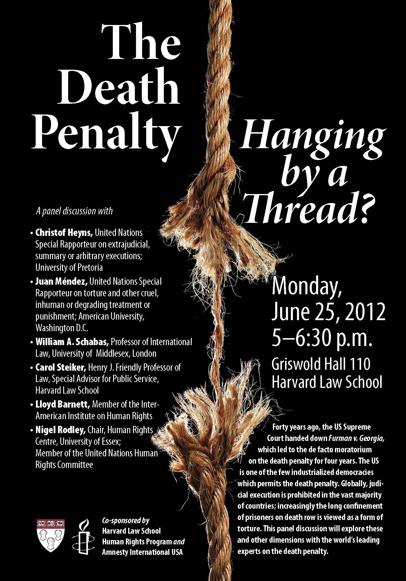 a discussion on the effectiveness of the death penalty Death penalty statistics provides information on the death penalty in 37 states simple answers provides easy to read statistics on capital punishment in the us pros and cons of the death penalty provides a simple explanation of both sides of the debate.