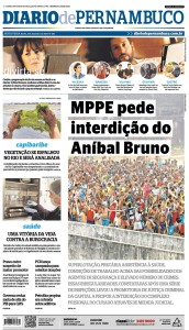 Today's Diário de Pernambuco reports on prosecutors' Aníbal Bruno filing